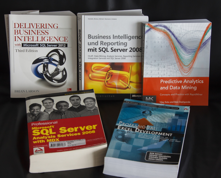 Bücher rund um Business Intelligence, Data Mining und Predictive Analysis